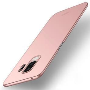 MOFI ultra-dunne Frosted PC Case voor Galaxy S9 PLUS (Rose goud)