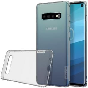 NILLKIN Nature TPU Transparent Soft Case for Galaxy S10 (Grey)