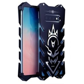 Vulcan Pattern Shockproof Protective Case for Galaxy S10 (Black)