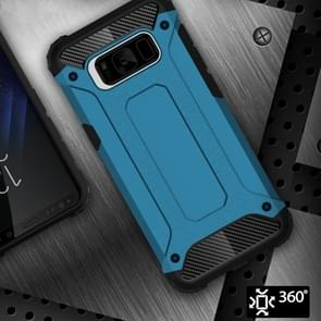 Voor Galaxy S8 ruige Armor TPU + PC combinatie Case(Blue)