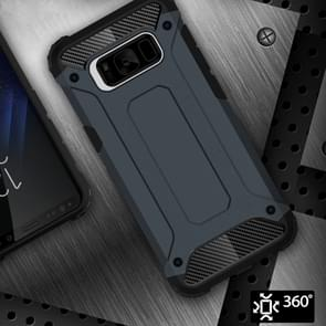 Voor Galaxy S8 ruige Armor TPU + PC combinatie Case(navy)