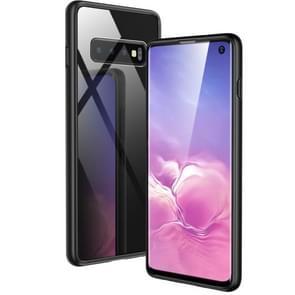 ESR Mimic TPU Frame + Glass Case for Galaxy S10(Black)