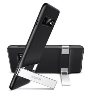 ESR Urbansoda Simplace Series PC + TPU Protective Case for Galaxy S10, with Metal Holder(Black)
