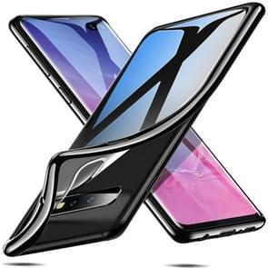 ESR Twinkler Series Transparent Ultra-thin Soft TPU Case for Galaxy S10+(Black)