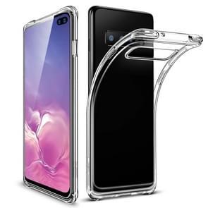 ESR Essential Zero Clear Series Ultra-thin Shockproof Soft TPU Case for Galaxy S10+ (Transparent)