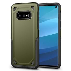 Shockproof Rugged Armor Protective Case for Galaxy S10e (Army Green)