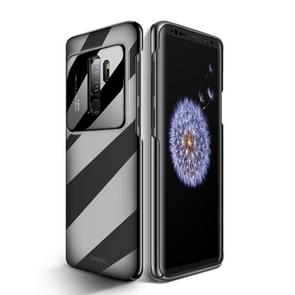 JOYROOM for Galaxy S9+ Shockproof PC Glass Protective Back Case(Black)
