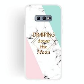 Dreamcatcher Text Semi-transparent TPU Marble Phone Case for Galaxy S10e