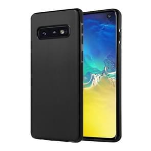 SULADA Car Series Magnetic Suction TPU Case for Galaxy S10e (Black)
