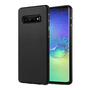 SULADA Car Series Magnetic Suction TPU Case for Galaxy S10+ (Black)