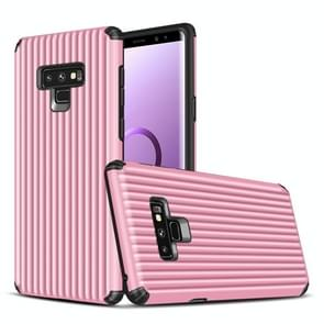 Travel Box Shape TPU + PC Protective Case for Galaxy Note 9 (Pink)