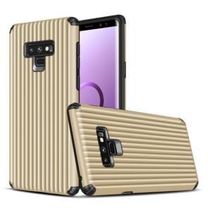 Reis doosvorm TPU + PC beschermende case voor Galaxy Note 9 (goud)