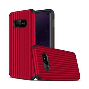 Travel Box Shape TPU + PC Protective Case for Galaxy S10 E (Red)