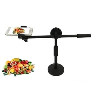 Live Broadcast Adjustable 360 Degrees Rotation Photography Mobile Phone High Angle Shot Overhead Bracket