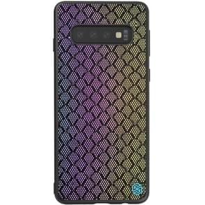 NILLKIN Brilliant Series PC+TPU Reflective Shell Rainbow for Galaxy S10