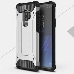 Voor Galaxy S9 PLUS TPU + PC 360 graden bescherming schokbestendige beschermende back cover(Silver)
