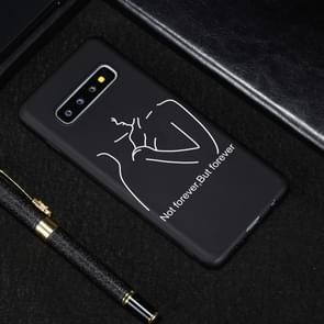 Distance Painted Pattern Soft TPU Case for Galaxy S10e