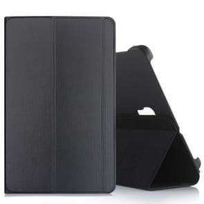 Business horizontale Flip lederen case voor Galaxy tab A 10 5 T590/T595  met houder (zwart)