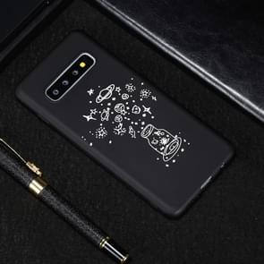 Wishing Bottle Painted Pattern Soft TPU Case for Galaxy S10+