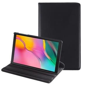 Litchi Texture Horizontal Flip 360 Degrees Rotation Leather Case for Galaxy Tab A 10.1 (2019) T510 / T515, with Holder (Black)