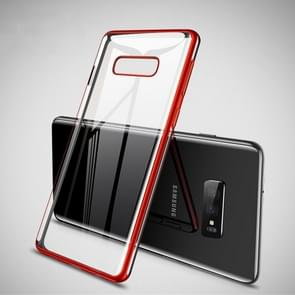 CAFELE Ultra-thin Soft TPU Shockproof Protective Case for Galaxy S10 E (Red)