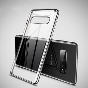 CAFELE Ultra-thin Soft TPU Shockproof Protective Case for Galaxy S10 Plus (Black)
