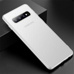 CAFELE Ultra-thin Frosted Soft TPU Protective Case for Galaxy S10 Plus (White)