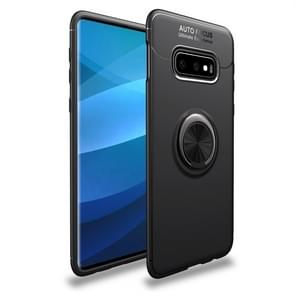 lenuo Shockproof TPU Protective Case for Galaxy S10 E, with Invisible Holder(Black)