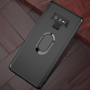 Shockproof TPU Full Protective Case for Galaxy Note 9, with 360 Degree Rotation Holder (Black)