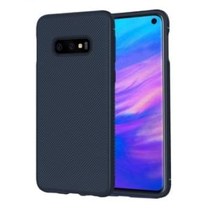 lenuo Leshen Series Stripe Texture TPU Case for Galaxy S10 E (Blue)