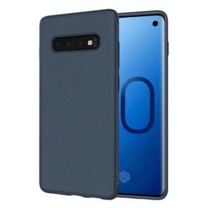 lenuo Leshen Series Stripe Texture TPU Case for Galaxy S10 Plus (Blue)