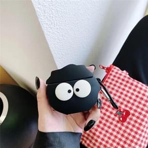 Voor Huawei Freebuds 3 Coal Ball Patroon Siliconen draadloze oortelefoon beschermhoes opbergdoos