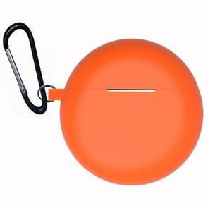 Voor Huawei Freebuds 3 Siliconen draadloze Bluetooth oortelefoon Beschermdoos (Oranje)