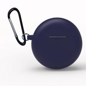 Voor Huawei Freebuds 3 Siliconen draadloze Bluetooth oortelefoon Beschermdoos (Blauw)