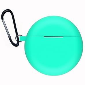 Voor Huawei Freebuds 3 Siliconen draadloze Bluetooth oortelefoon Beschermdoos (Mint Green)