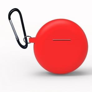 Voor Huawei Freebuds 3 siliconen draadloze Bluetooth-oortelefoon Beschermdoos (Rood)