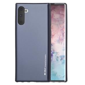 KWIK GOOSPERY i-JELLY TPU schokbestendig en kras geval voor Galaxy Note 10 (zwart)