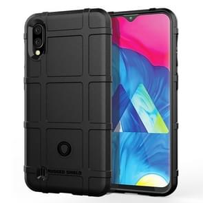 Shockproof Rugged  Shield Full Coverage Protective Silicone Case for Galaxy M10 (Black)