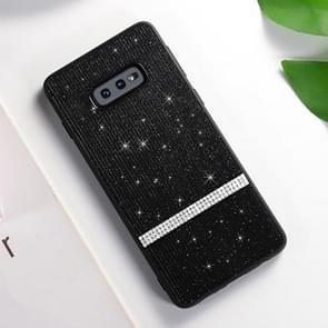 SULADA Glitter Powder Diamond TPU Case for Galaxy S10e (Black)