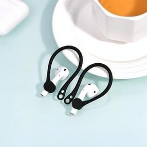 KUULAA KL-O05 draadloze koptelefoon Lanyard anti-verloren hoofdtelefoon (zwart)