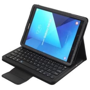 SA860 voor Galaxy tab S6 10 5 inch T860/T865 Litchi textuur afneembare Bluetooth toetsenbord lederen draagtas met standaard functie (zwart)