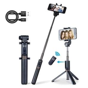 APEXEL APL-D3 Universal Live Broadcast Multifunctionele aluminiumlegering Bluetooth Selfie Stick met statief