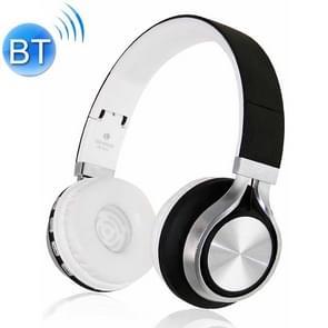 2-in1 Bluetooth Wireless Headphones + MP3 functie opvouwbare Stereo zware Bass Cordless Gaming muziek Headset oortelefoon (zwart)
