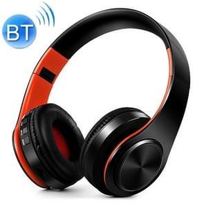 LPT660 Wireless vouwen stereomuziek Bluetooth telefoons oortelefoons ondersteuning TF sportkaart (oranje)