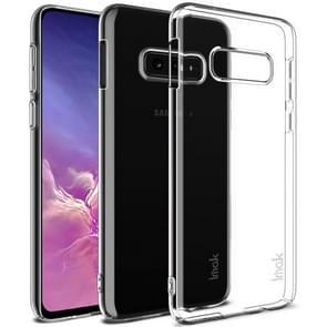 IMAK Wing II slijtage-weerstaan Crystal Pro beschermhoes voor Galaxy S10e  met scherm sticker (transparant)