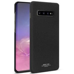 IMAK Matte Touch Cowboy PC Case for Galaxy S10 (Black)