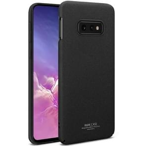 IMAK Matte Touch Cowboy PC Case for Galaxy S10e (Black)