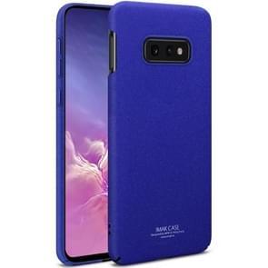 IMAK matte Touch Cowboy PC Case voor Galaxy S10e (blauw)