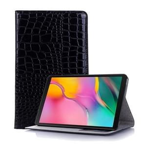 Krokodil textuur horizontale Flip lederen case voor Galaxy tab een 8 (2019) P200/P205  met houder & card slots & portemonnee (zwart)