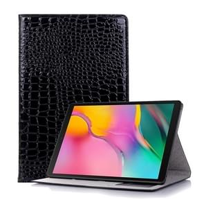 Krokodil textuur horizontale Flip lederen case voor Galaxy tab S5e 10 5 T720/T725  met houder & card slots & portemonnee (zwart)